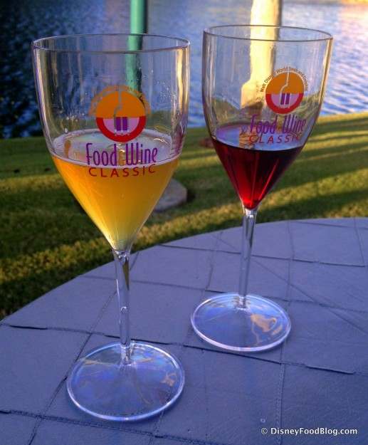Enjoying Tastings of Beer and Wine at the Swan and Dolphin Food and Wine Classic