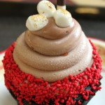 Review: Hot Chocolate Cupcake from the Contempo Cafe at Disney's Contemporary Resort