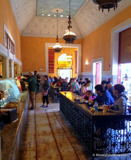 Indoor Seating Area, as Seen From the Coffee Bar at the Back