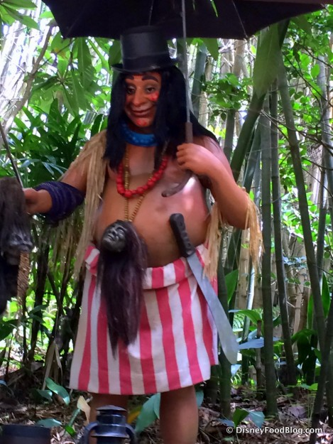 Trader Sam from Disney World's Jungle Cruise