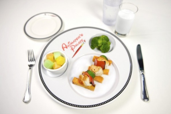 Mickey Check Meal on Disney Cruise Lines