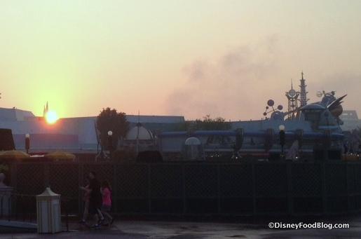 Morning at Magic Kingdom