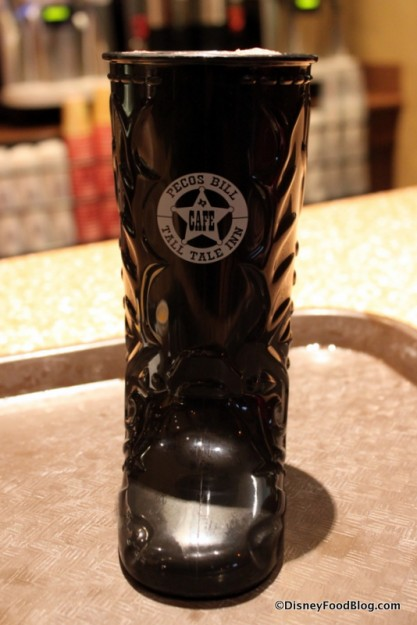 Souvenir Boot from Pecos Bill Tall Tale Inn and Cafe