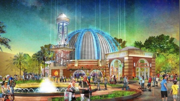 Artist's Rendering of the New Planet Hollywood Observatory Restaurant at Disney Springs (Photo Courtesy Orlando Sentinel)