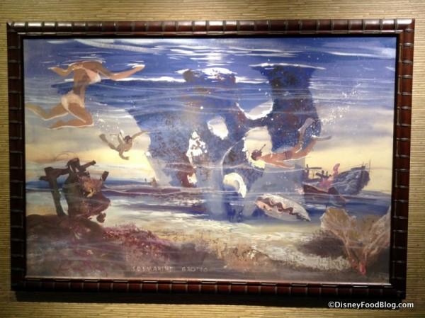 Submarine Grotto Painting