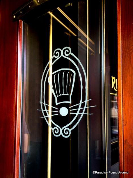 Chez Rémy Door Detail