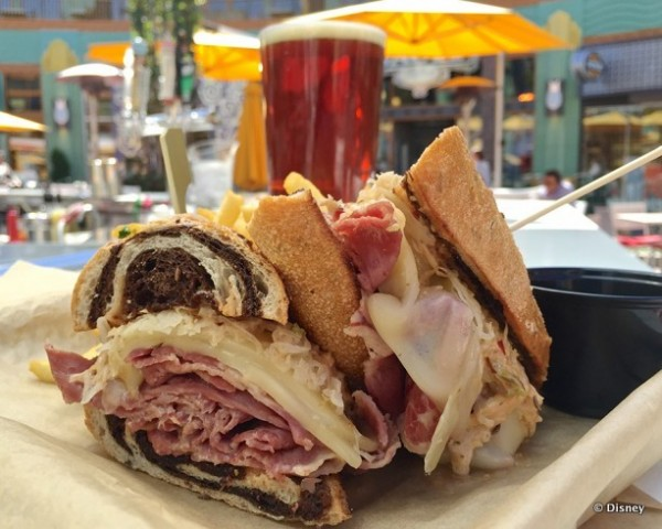 Shaved Corned Beef Reuben