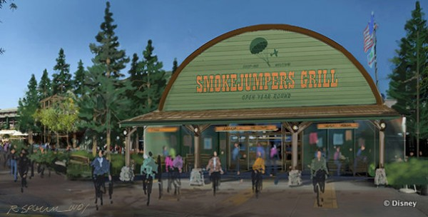 Smokejumpers Grill in Disney California Adventure