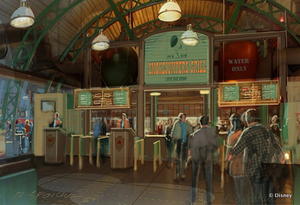 Smokejumpers Grill -- Inside Ordering Area