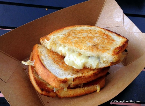 Gruyere and Applewood Smoked Bacon Grilled Cheese Sandwich