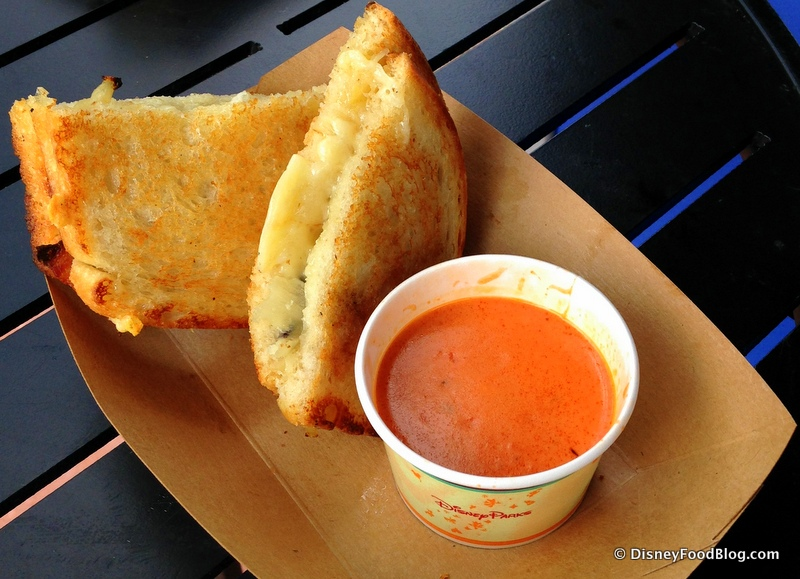 Review: Gourmet Grilled Cheese at Epcot's Taste Track | the disney ...