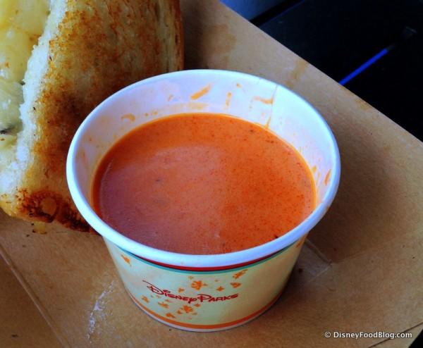 Taste Track Tomato Basil Soup
