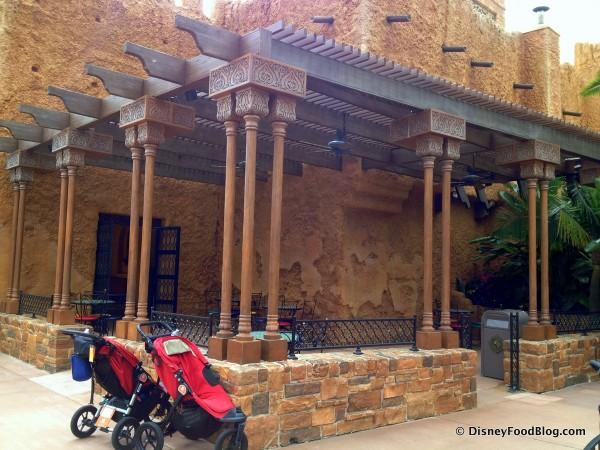 Tangierine Cafe Terrace
