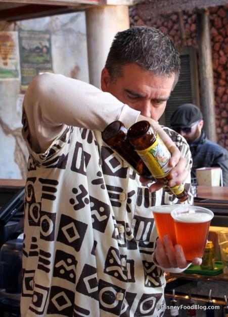 Bartender at Dawa Bar