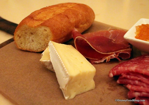 Assorted Cured Meats and Cheeses