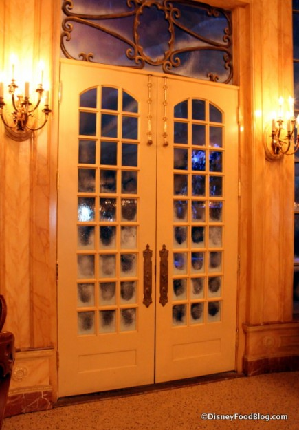 be our guest restaurant ballroom french doors