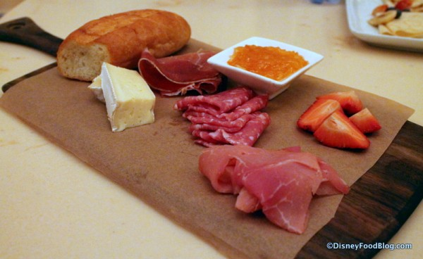 Assorted Cured Meats and Cheese