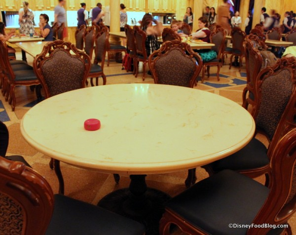 Table with Magic Rose