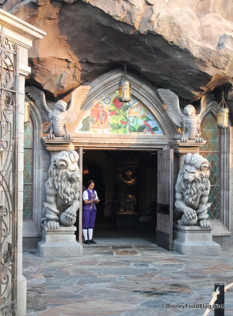 Entrance to Be Our Guest