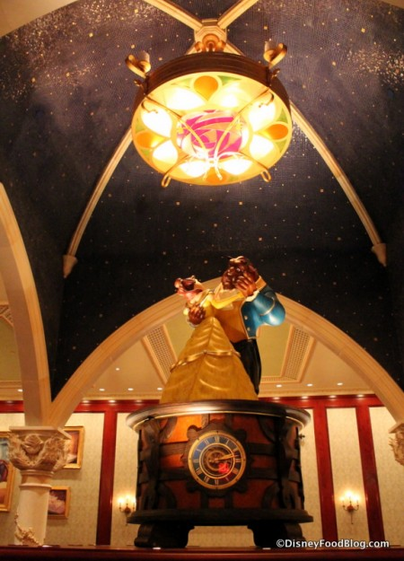 Belle and Beast dancing Music Box