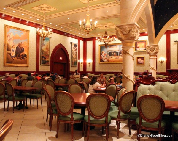 Review Dinner At Be Our Guest Restaurant In Disney Worlds Magic - Be our guest 20 stellar guest room design ideas