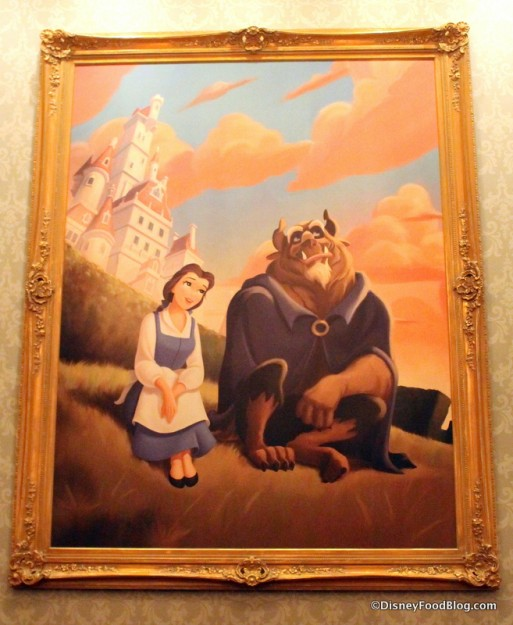 Portrait of Belle and the Beast