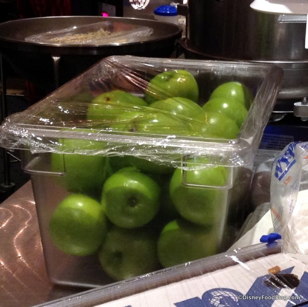 Granny Smith apples for Candy Apples