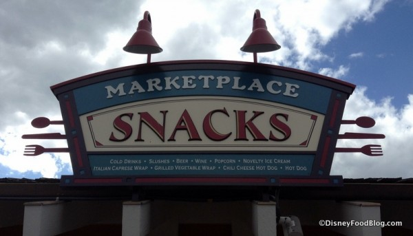 Marketplace Snacks at Disney Springs