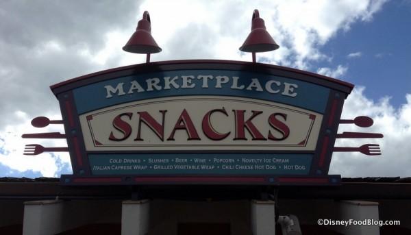 Marketplace Snacks at Disney Springs