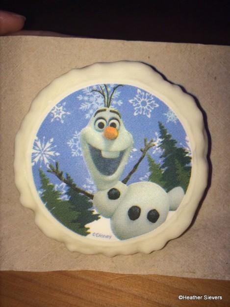 Olaf's Snowflake Crisp Rice Treat