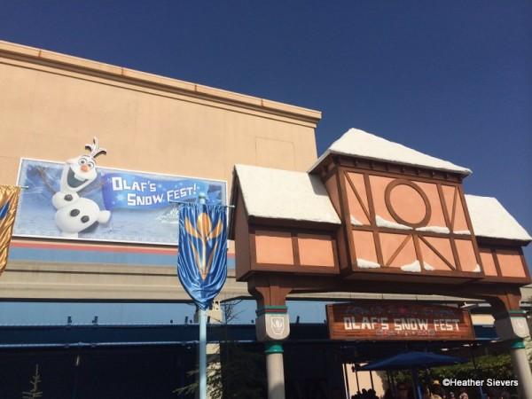 Olaf's Snow Fest