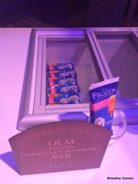 Olaf Lemonade Strawberry Frozen Bar