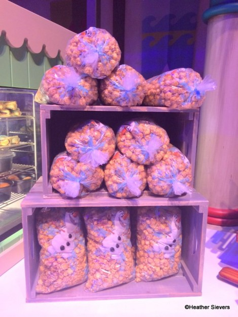 Caramel Corn with Olaf Packaging
