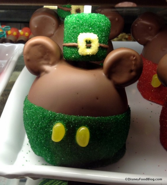 St Patty's Day Mickey Apple