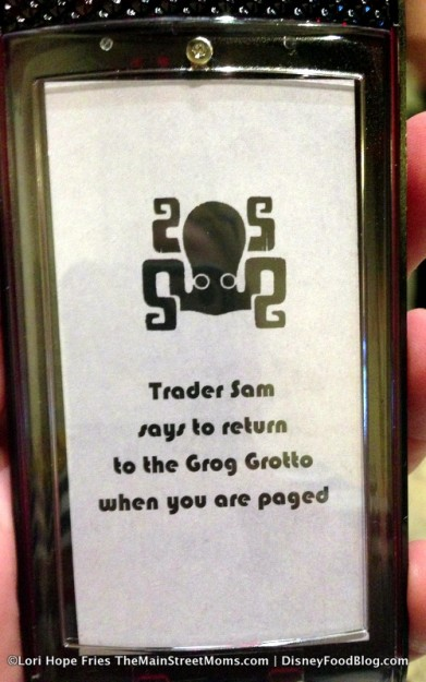 Pager for Trader Sam's