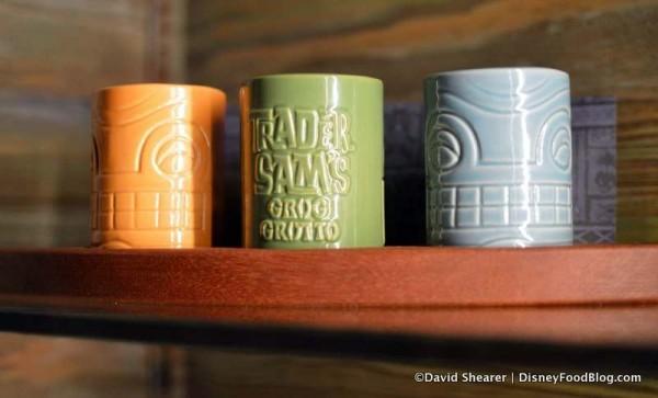 Rum Flight souvenir glasses