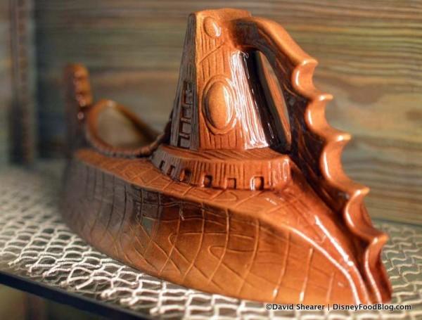 The Nautilus in the souvenir display