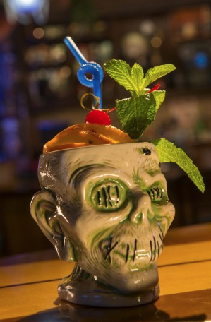 Shrunken Zombie Head glass ©Disney