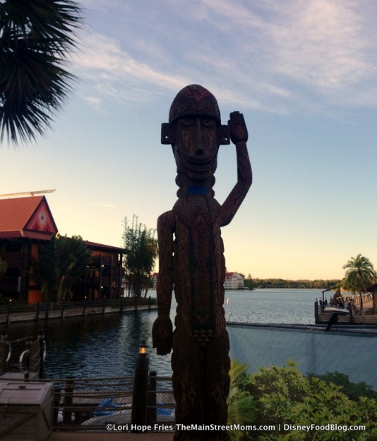 Goodbye from the Tiki Terrace! We're going inside...