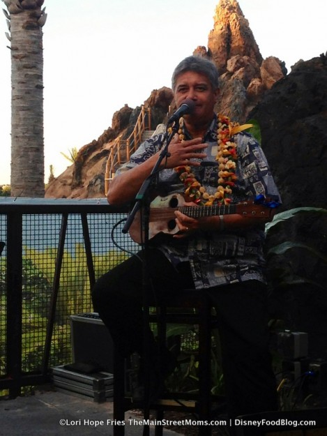 Live music at the Tiki Terrace