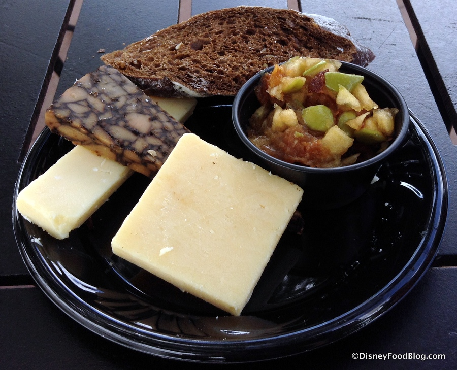 Kerrygold Cheese Selection & Ireland: 2015 Epcot Food and Wine Festival | the disney food blog