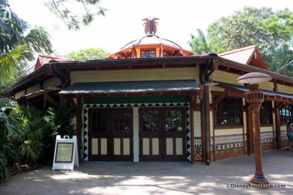 Animal Kingdom Future Starbucks Exterior