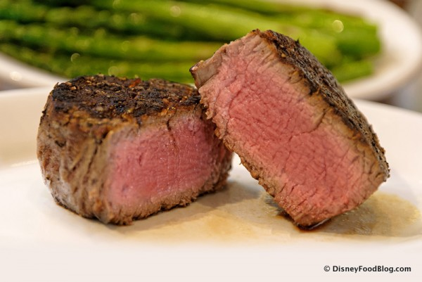 Eight-Ounce Filet -- Cross Section, Up Close