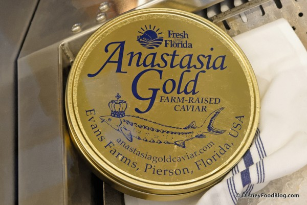 Anastasia Gold Farm Raised Caviar -- A Boathouse Exclusive