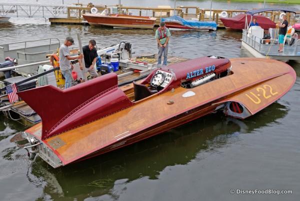 Rocket Boat!