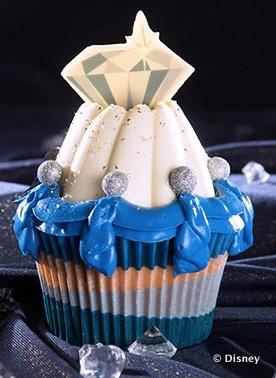 Disneyland Diamond Anniversary Cupcake