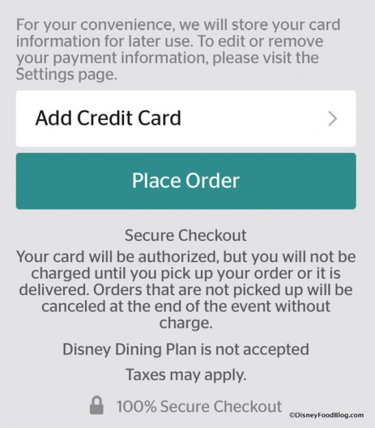 Credit Card request and info
