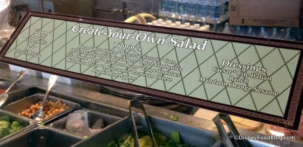 Create-Your-Own Salad Bar