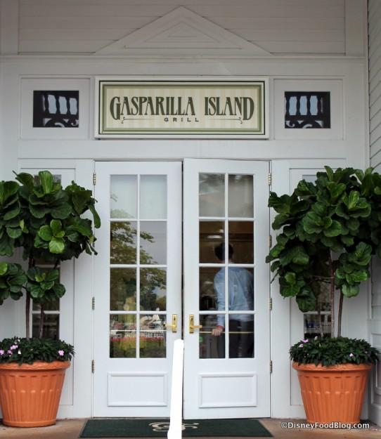 Gasaprilla Island Grill entrance