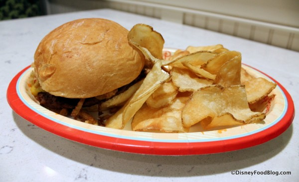 Gasparilla Island Grill Grand Floridian grand gatsby burger 1